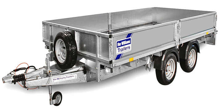 LM105 Commercial Trailer