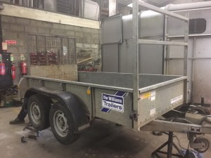 GD 8x4 ramp and ladder rack