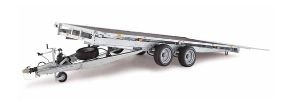 Ifor Williams Tiltbed CT166 Trailers