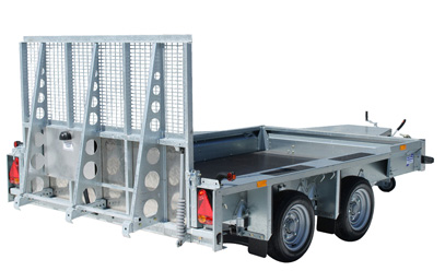 Ifor William GX106 Plant Trailer