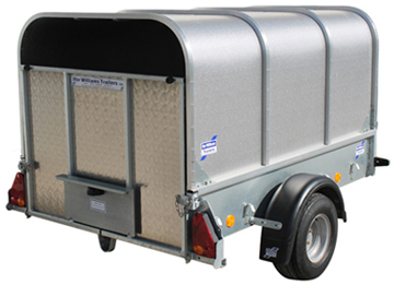 Ifor Williams P6e with Canopy - Small Domestic Trailer