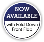 Fold-Down Front Flap